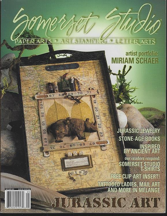Image for SOMERSET STUDIO MAGAZINE MAY/JUNE 2003 Paper Arts, Art Stamping, Letter Arts