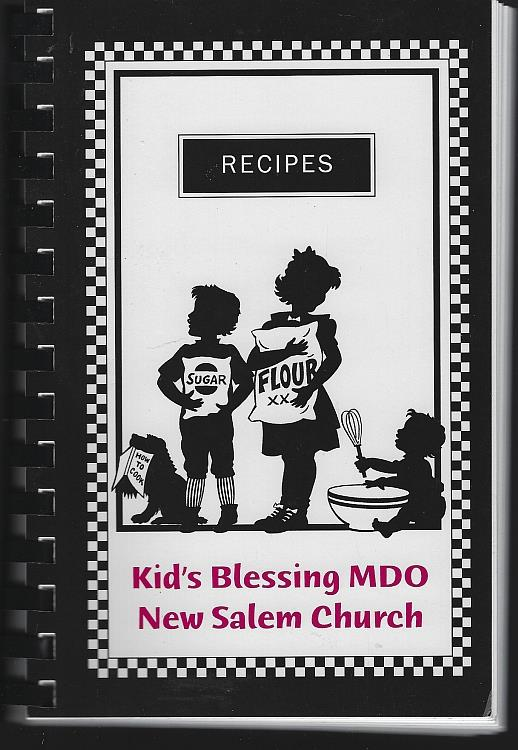 Image for RECIPES Kid's Blessing MDO New Salem Church, Owens Cross Roads, Alabama