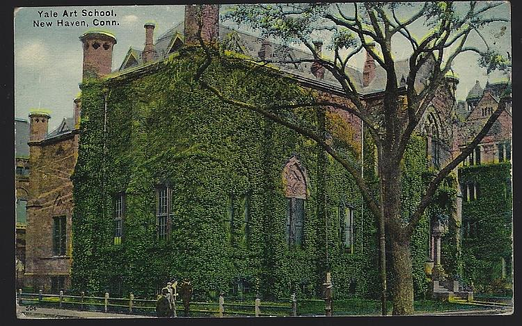 Image for YALE ART SCHOOL, NEW HAVEN, CONNECTICUT